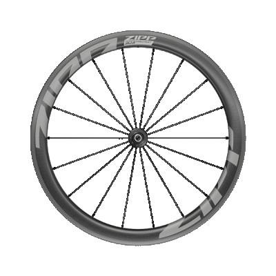 Karbónové koleso na cestný bicykel predné ZIPP AMWH 303 FC TL RB 7F QR STD A1 pre ráfikové brzdy