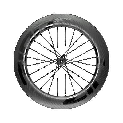 Karbónové koleso na cestný bicykel predné Zipp AMWH 808 NSW TL DBCL 7F 12X100 STD A2 pre kotúčovú brzdu