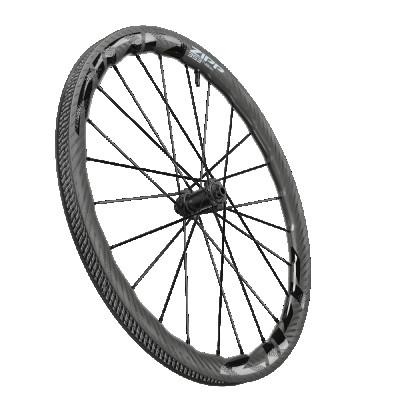 Karbónové koleso na cestný bicykel predné ZIPP AMWH 353 NSW TL DBCL 7F 12X100 STD A1 pre kotúčovú brzdu