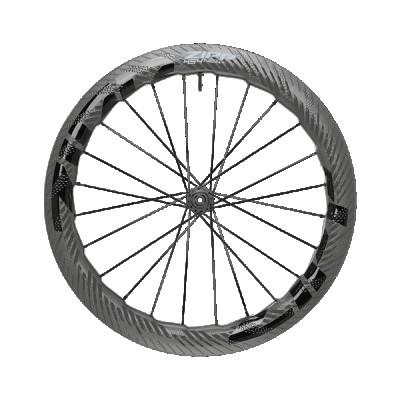 Karbónové koleso na cestný bicykel predné Zipp AMWH 454 NSW TL DBCL 7F 12X100 STD B1 pre kotúčové brzdy