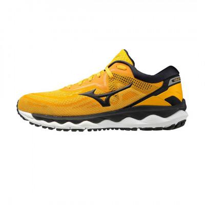 Bežecké tenisky unisex Mizuno WAVE SKY 4 žlté