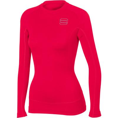 45b74a4646e1 Sportful TD Mid Tričko dlhý rukáv dámske červené