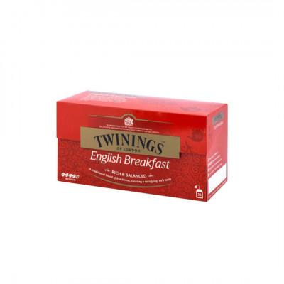 Twinings čierny čaj English Breakfast Tea 25x2 g