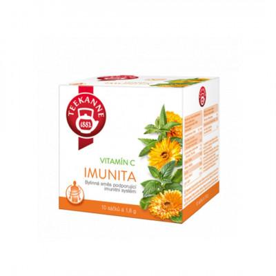 Teekanne bylinný čaj Imunita s vitamínom C 20x1,8 g