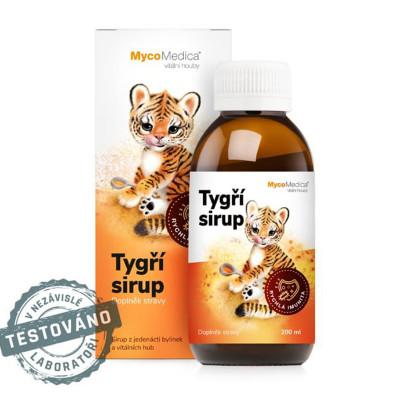 Tigrí detský sirup MycoMedica 200 ml