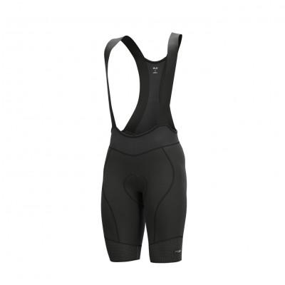 Letné cyklistické nohavice pánske ALÉ PRS MASTER 2.0 čierne/šedé