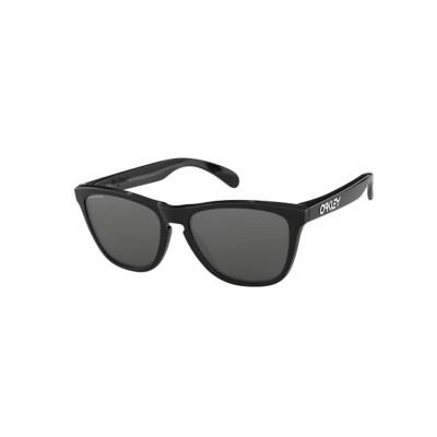 Slnečné okuliare OAKLEY FROGSKINS POLISHED BLACK W/PRIZM čierne