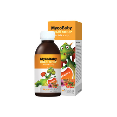 Dračí detský sirup MycoMedica MycoBaby 200 ml