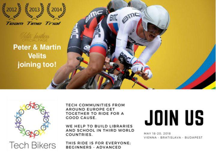 Tech Bikers komunita cyklistov jazdí pre dobrú vec!