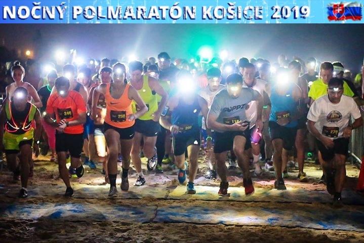 Nočný polmaratón Košice 2019