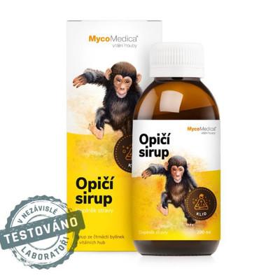 Opičí detský sirup MycoMedica 200 ml