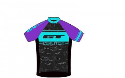 2017 GT DRES DÁMSKÝ RACE PURPLE/BLUE XS