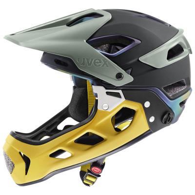 Cyklistická prilba UVEX JAKKYL HDE 2.0 BOA žltá/zelená