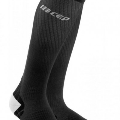 Bežecké kompresné ponožky dámske CEP Ultralight čierne