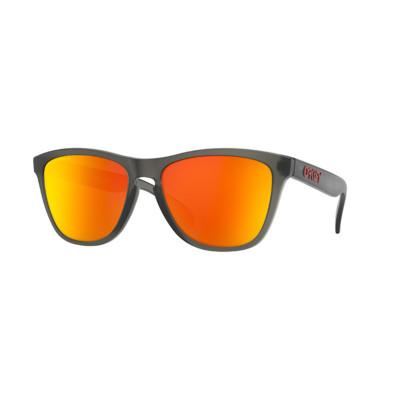 Slnečné okuliare OAKLEY FROGSKINS WOODGRAIN W/PRIZM DAILY POLARIZED čierne/oranžové