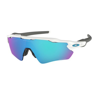 Slnečné okuliare OAKLEY RADAR EV PATH POL WHT W/ PRIZM SAPPH biele