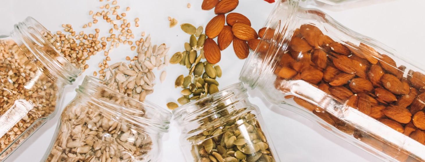 11 druhov orechov alebo super zdravé zobanie