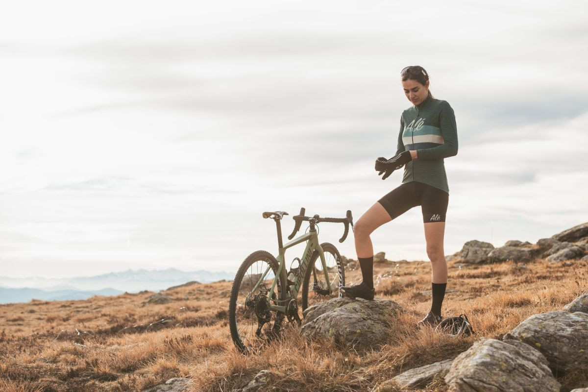 Vintage cyklistický dres ALÉ Classic.