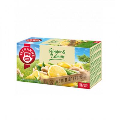 Teekanne WOF Ginger & Lemon ovocno - bylinný čaj 20x1,75 g