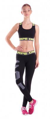 Športová podprsenka dámska Carpe DM H FIT čierna/žltá