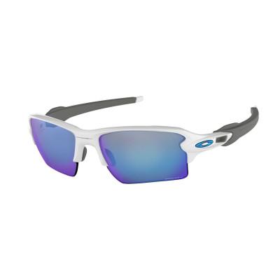 Slnečné okuliare OAKLEY FLAK 2.0 XL POL WHT W/PRIZM DP H2O POL biele