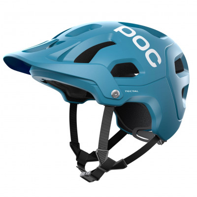 MTB prilba na bicykel POC Tectal Basalt Blue modrá