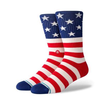 Ponožky Stance THE FOURTH ST CREW/RED farebné