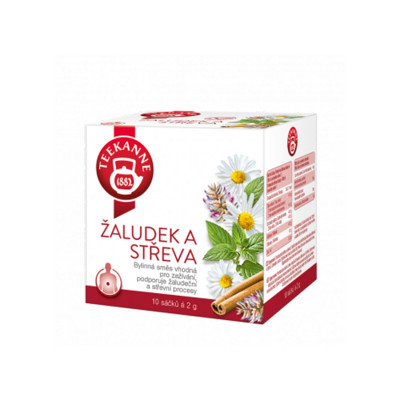 Teekanne bylinný čaj na žalúdok a črevá 10x2 g