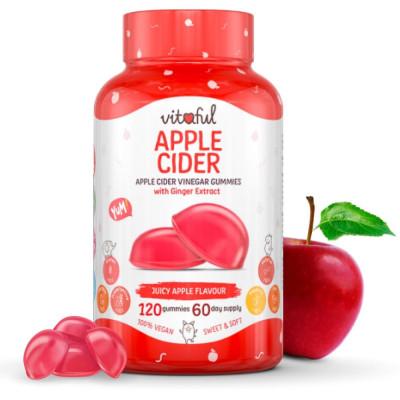 Gumené Vitamíny Vitaful Apple Cider 120 kapsúl