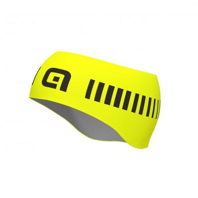 Cyklistická čelenka ALÉ STRADA HEADBAND žltá/čierna