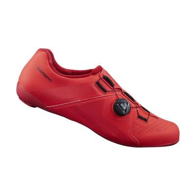Cyklistické tretry pánske Shimano SHRC300 červené