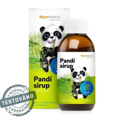 Pandí detský sirup MycoMedica 200 ml