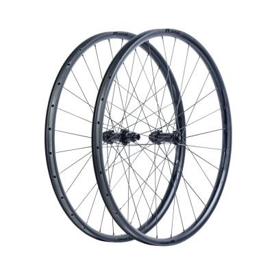 Karbónové kolesá pre horský bicykel D.R.A.C. Wheels MTB DRAC 29, DT240, plášť, matné čierne