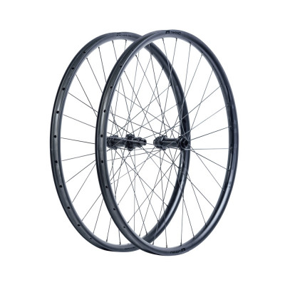 Karbónové kolesá pre horský bicykel D.R.A.C. Wheels MTB DRAC 29, DT350 Boost, plášť, matné čierne
