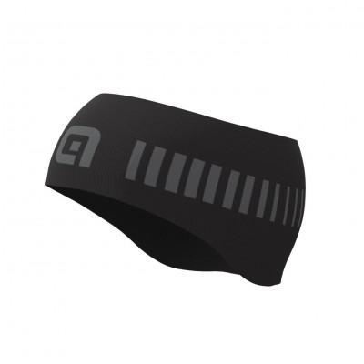 Cyklistická čelenka Alé STRADA Headband čierna/šedá