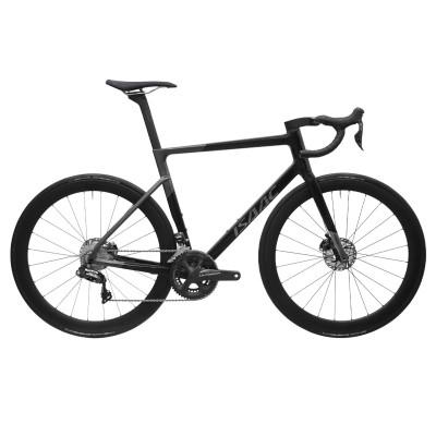 Cestný karbónový bicykel Ultegra R8000 Isaac Boson Disc Onyx Black čierna/šedá