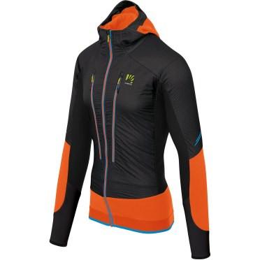 Outdoorová bunda Karpos čierno-oranžová