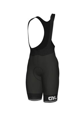 Letné cyklistické nohavice pánske ALÉ CORSA čierne/biele