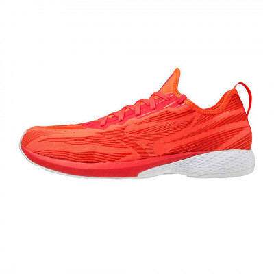 Bežecké tenisky unisex Mizuno WAVE AERO 19 oranžové