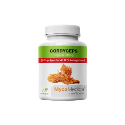 MycoMedica Cordyceps 50 % vo vysokej koncentrácii