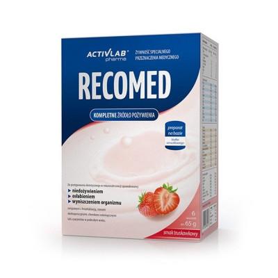 Kompletná výživa ActivLab RECOMED 6 x 65 g jahoda