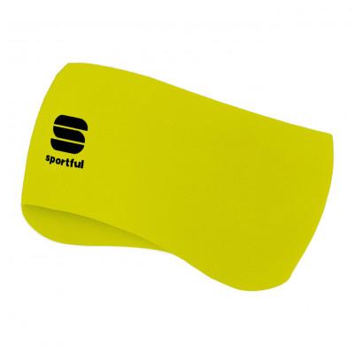 Zimná bežecká čelenka Sportful Edge fluo žltá