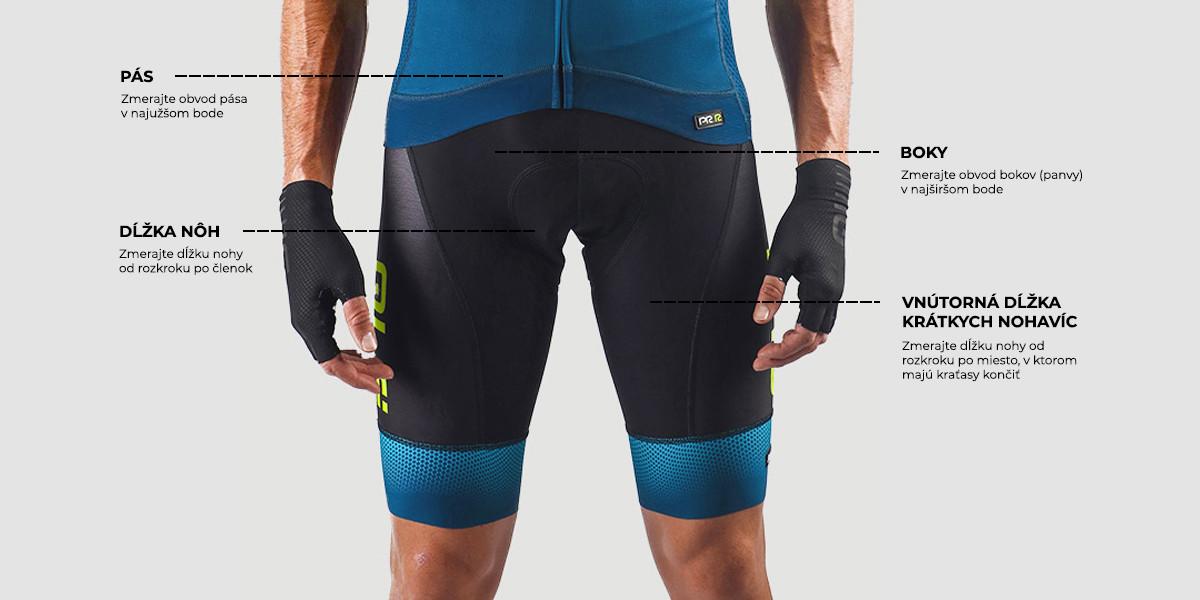 Pánske cyklistické nohavice