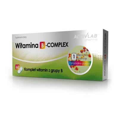 Vitamín B ActivLab B-Complex 60 kapsúl
