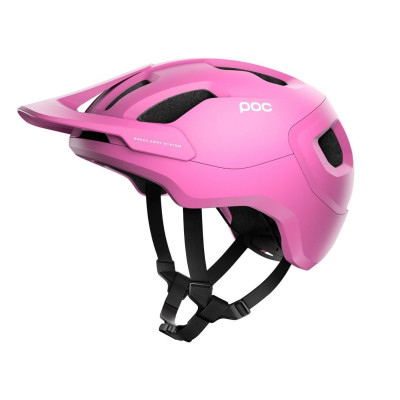 MTB prilba na bicykel POC Axion SPIN - Actinium Pink Matt