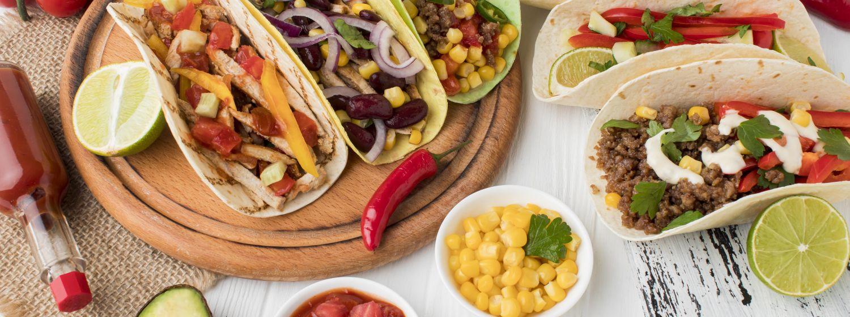 Recept na mexické tacos s kukuričnými tortillami