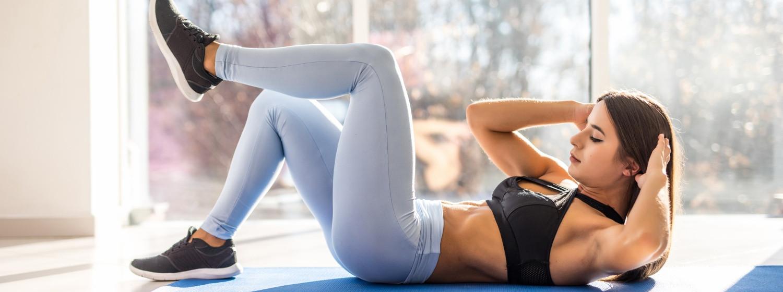 10 minútový video tréning brušných svalov