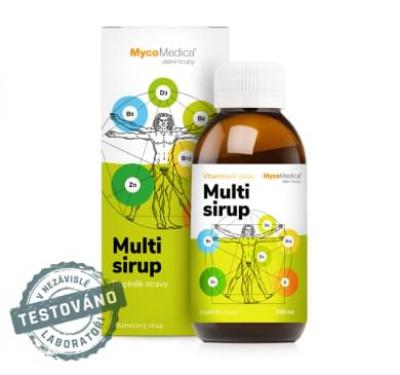 Multivitamínový sirup MycoMedica 200 ml