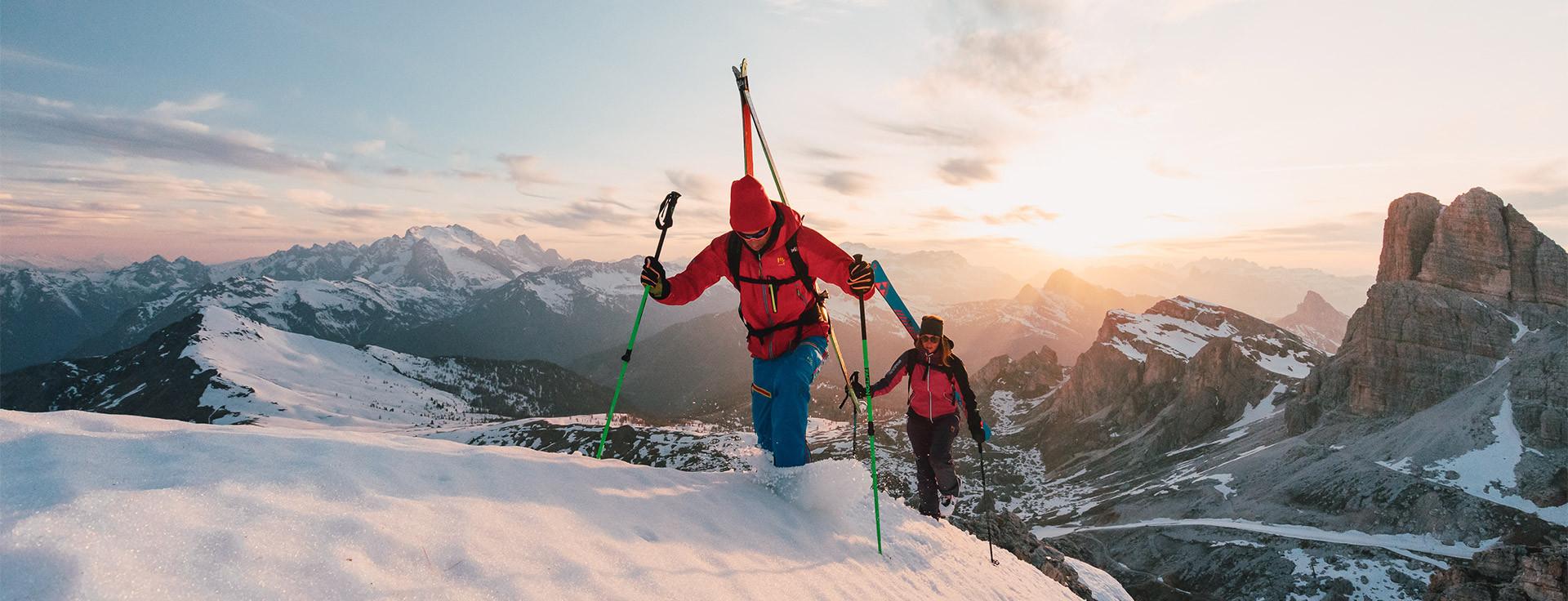 Najlepšie zimné outdoor bundy Karpos pre mužov do 250 eur
