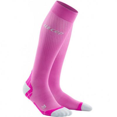 Bežecké kompresné ponožky dámske CEP Ultralight ružové